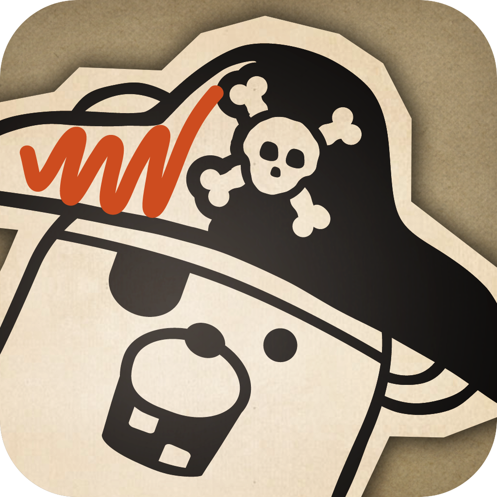 Pirate Scribblebeard's Treasure by Kidoodle - Your child's drawings come to life as they tell the story!